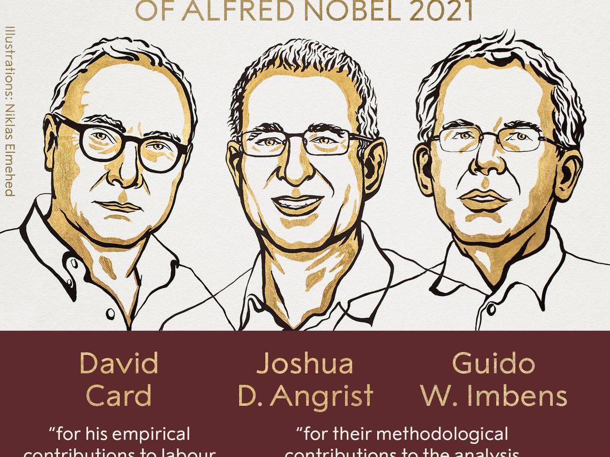 Photo: 2021 Nobel Prize Winners in Economics (The Nobel Prize)