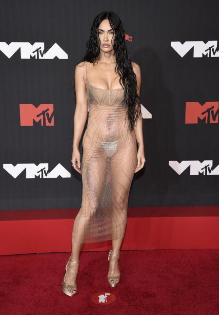 Megan Fox at the MTV VMAs red carpet