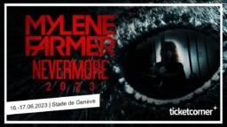 Mylène Farmer in concert at the Stade de Genève in Switzerland in 2023: pre-sale of tickets