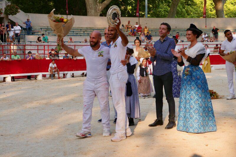 1634201234 589 BEAUCAIRE La Palme dOr for Vincent Marignan and a bonus