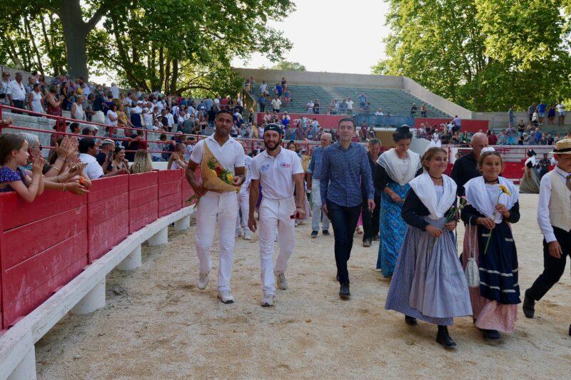 1634201235 34 BEAUCAIRE La Palme dOr for Vincent Marignan and a bonus