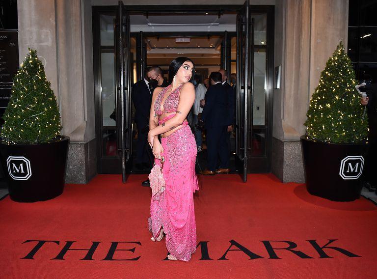 Lourdes Leon, before entering the Met Gala 2021