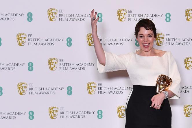 British actress Olivia Colman named best actress for