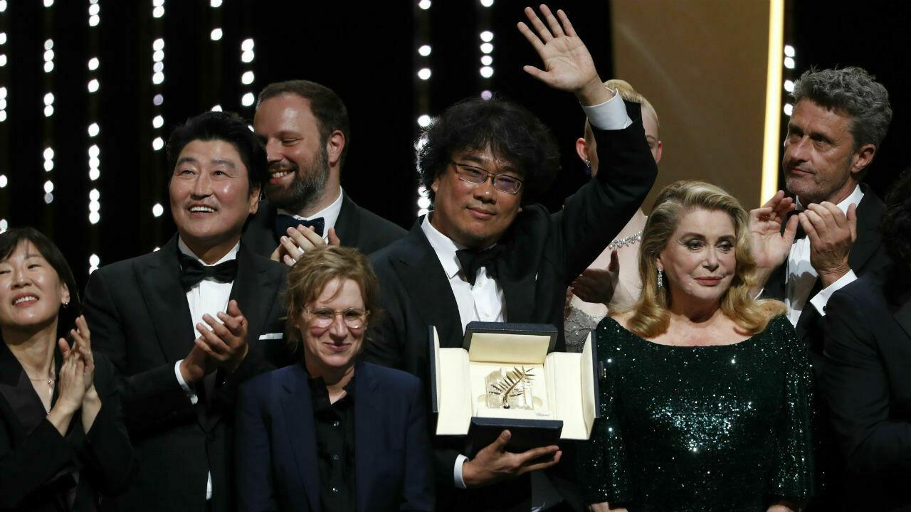 Cannes 2019 Parasite explosive Palme dOr of a political prize