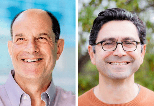 David Julius and Ardem Patapoutian Nobel Laureate in Medicine open