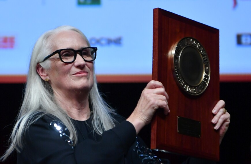 In Lyon, New Zealand director Jane Campion receives the Lumière Award