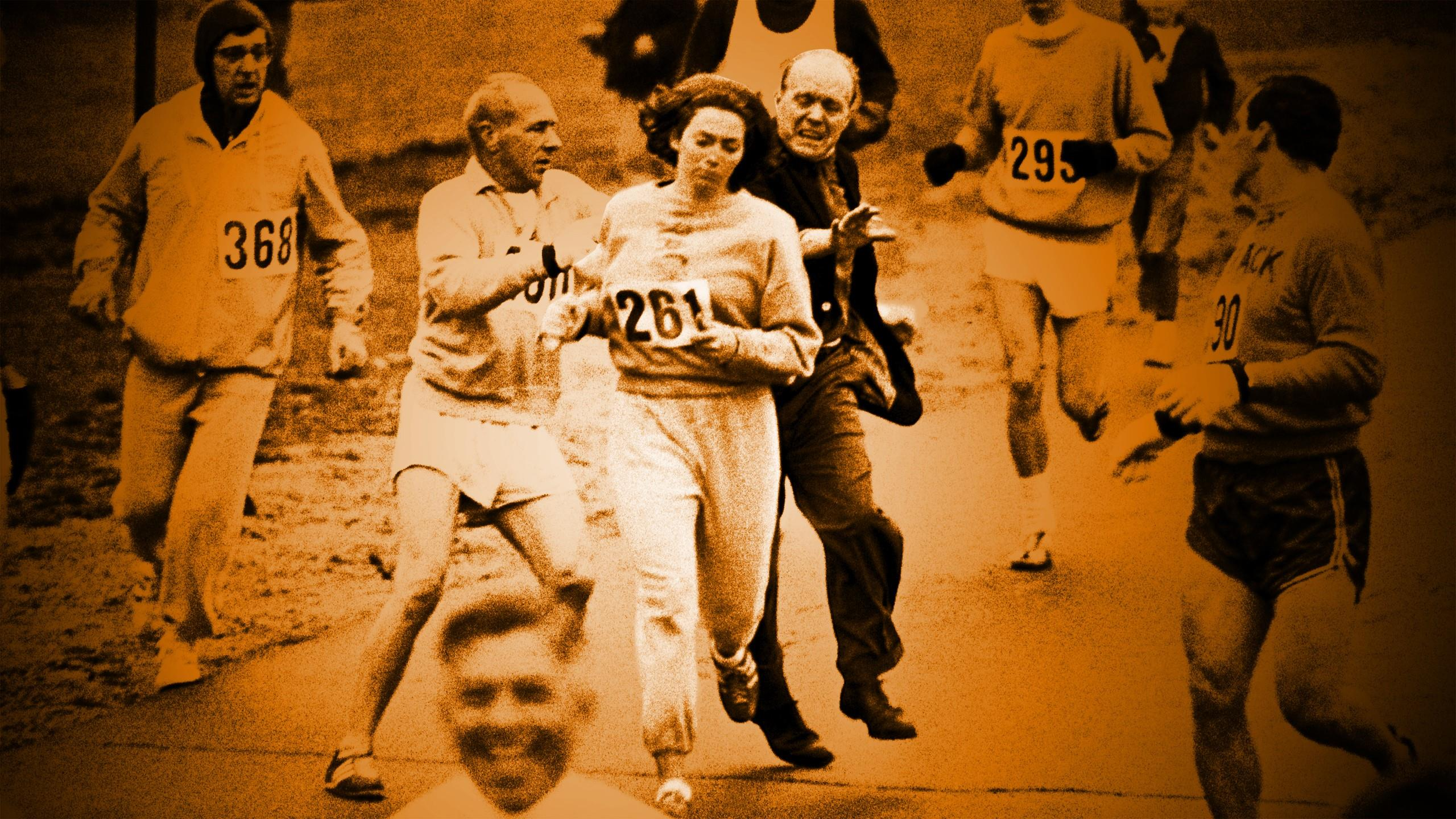 Les Grands Recits Marathon de Boston Kathrine Switzer