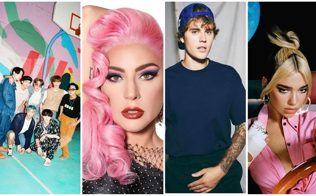 MTV EMA 2020 Full list of award nominees