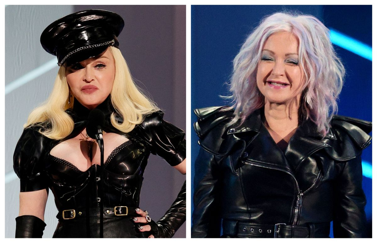 MTV VMA Madonna and Cyndi Lauper returned to recall the