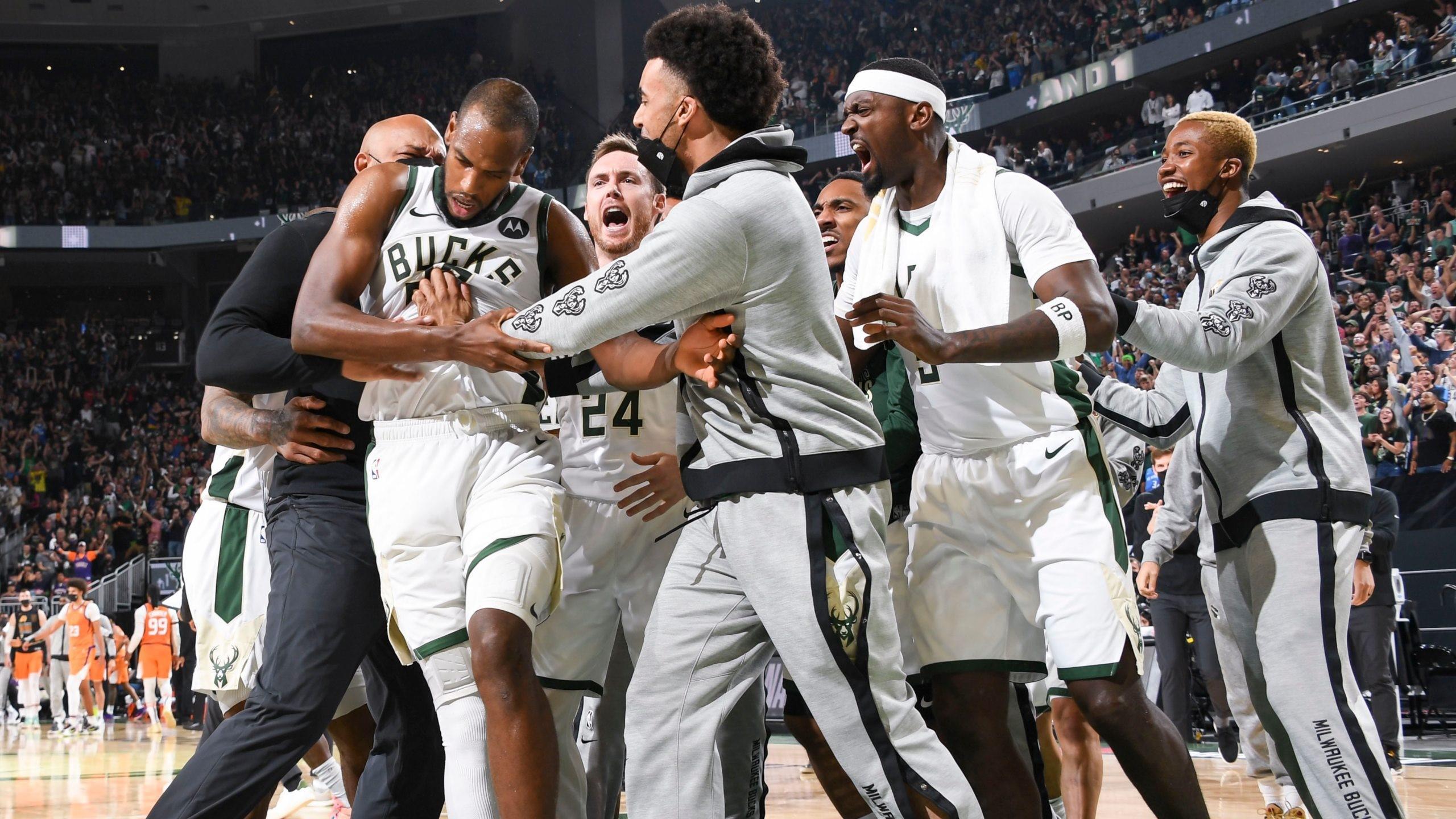 NBA Finals Khris Middleton decisive the Milwaukee Bucks resist a