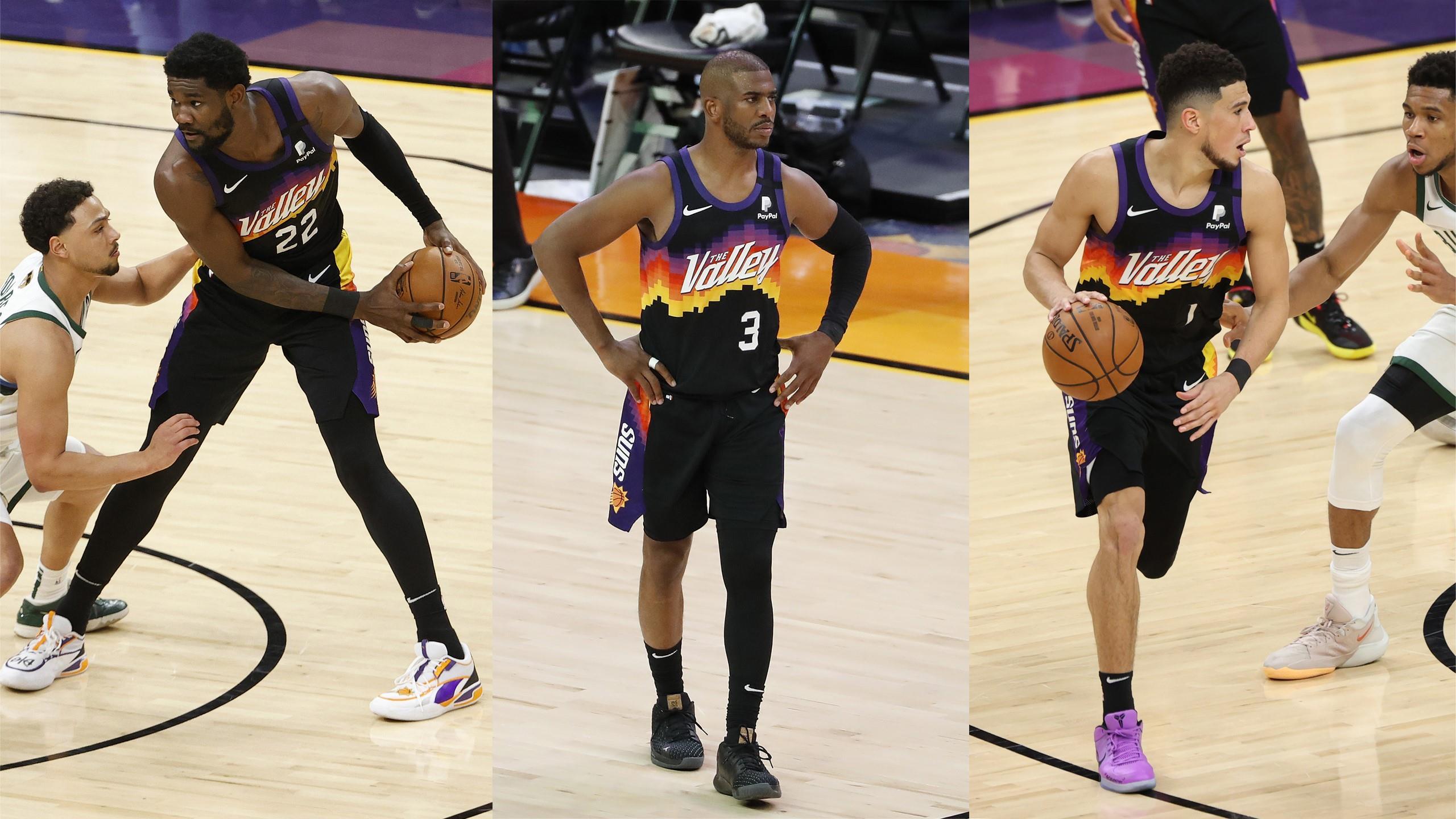NBA Paul Booker Ayton how the Phoenix Suns