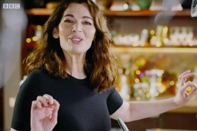 Nigella Lawson's bizarre microwave pronunciation is up for BAFTA award