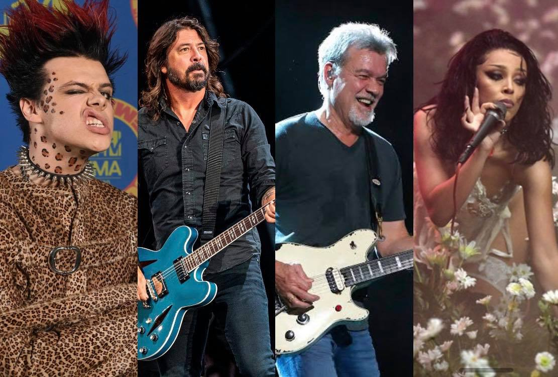 Rock present at the MTV EMAs Awards 2020 Rock