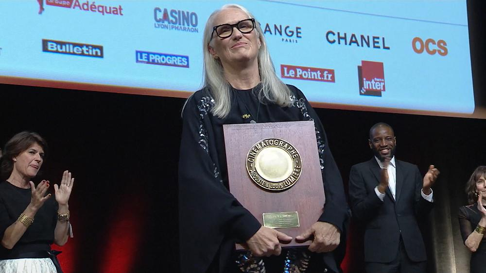 The 2021 Lumiere Prize awarded to Jane Campion in Lyon