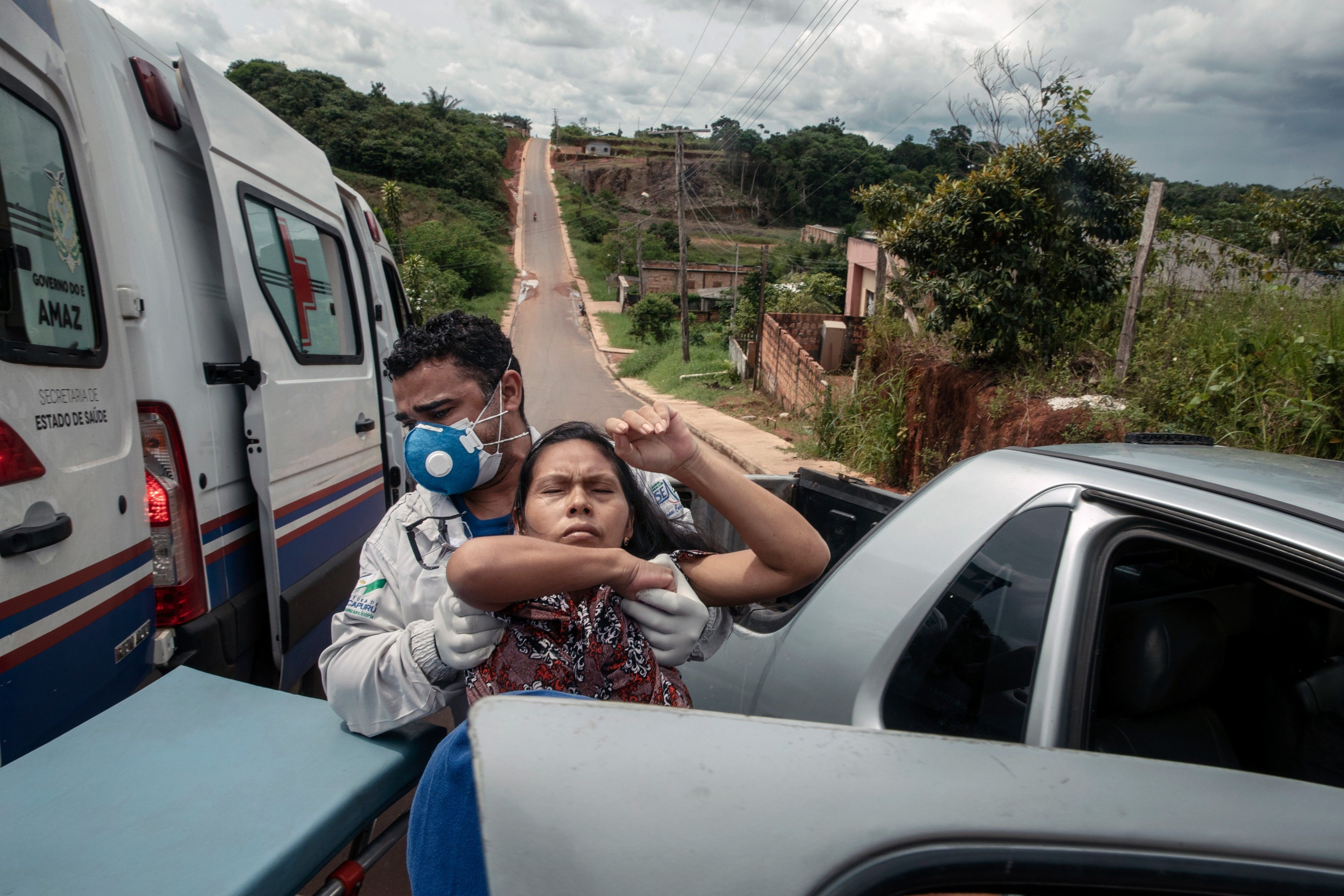 Report on the Covid-19 epidemic in the Amazon.